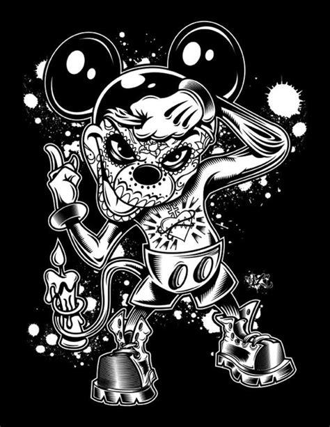 Mickey Day Of The Dead by CaziTena.deviantart.com on @deviantART   Mickey mouse drawings, Skull