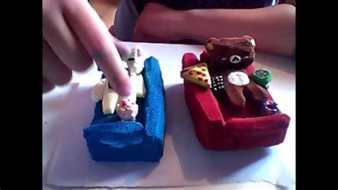 Rilakkumakorilakkuma Couch Potato Squishy Tutorial Youtube
