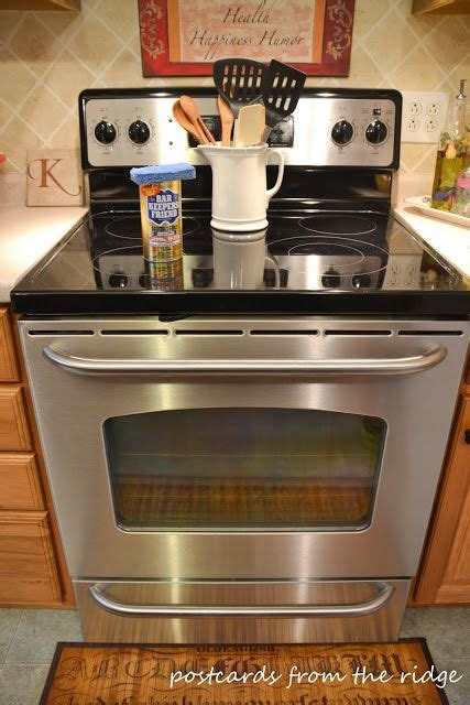 Kitchen Keepers Oven Genie by How To Clean Your Glass Cooktop Bar Keepers Friend In