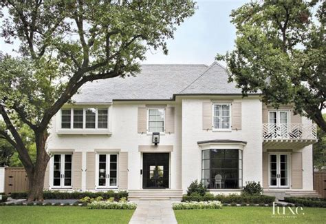 Traditional, Frenchcountry Inspired Houston Ranch Home
