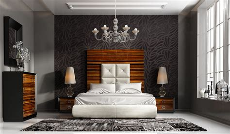 High Class Leather High End Bedroom Furniture Sets In
