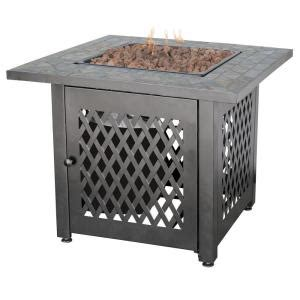 gas light mantles home depot endless summer 30 in steel lp pit with slate mantel