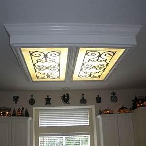Fluorescent gallery fg b ornamental iron diffuser