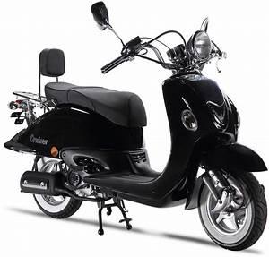 Motorroller 50 Ccm : luxxon motorroller 50 ccm 45 km h cruiser otto ~ Kayakingforconservation.com Haus und Dekorationen