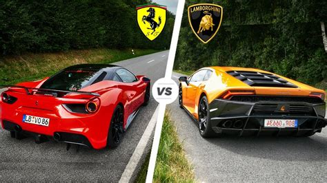 Lamborghini Vs Ferrari — Steemit