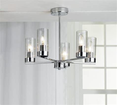 buy of house wallis 5 light glass ceiling light