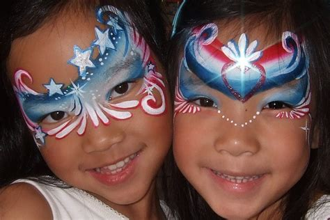 116 Best Face Paint- 4th Of July Ideas Images On Pinterest