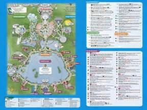 2016 Disney Epcot Map Printable