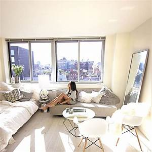 best 25 white studio apartment ideas on pinterest With 5 small apartment decorating ideas