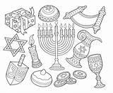 Coloring Coin Hanukkah Dreidel Menorah Drawings Symbols Adult Goblet Happy Printable Ty Hannukah Traditions Marianswelt sketch template