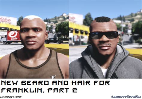 new beard and hair for franklin part 2 for gta 5