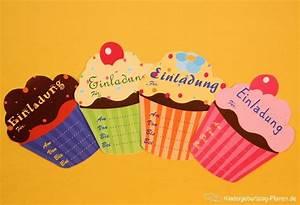 Geburtstagseinladung Selber Basteln : muffin einladung kindergeburtstag ~ Markanthonyermac.com Haus und Dekorationen
