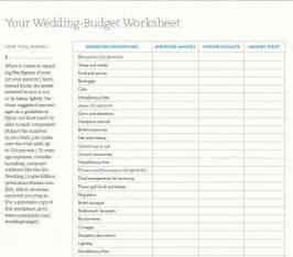 wedding budget worksheet 7 free printable budget worksheets