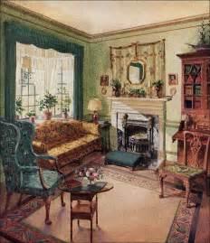 antique home interior 1929 living room karpen furniture by vintage home via flickr an illustrative