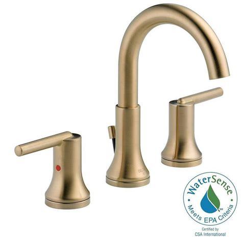 widespread kitchen faucet delta trinsic 8 in widespread 2 handle bathroom faucet