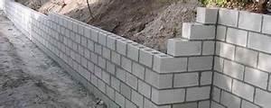 Cout Mur Parpaing : mur en parpaing construction maison b ton arm ~ Dode.kayakingforconservation.com Idées de Décoration