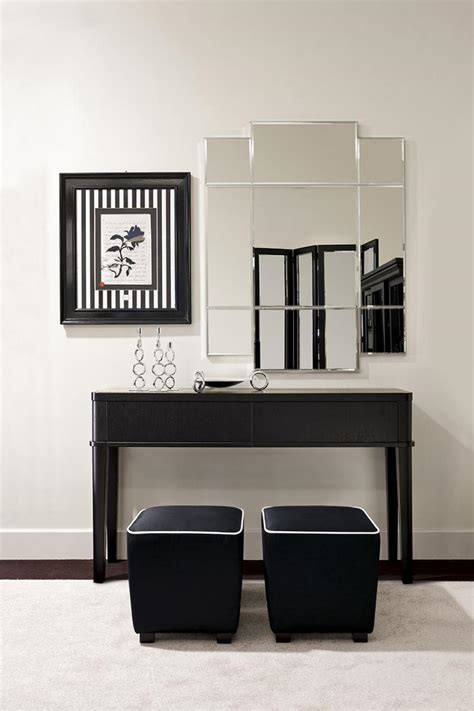 black white theme dining room oasis rooms luxury