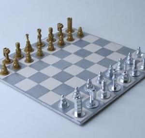 Figuren Aus Schrauben : originelle diy schachfiguren aus schrauben muttern und bolzen ~ Buech-reservation.com Haus und Dekorationen