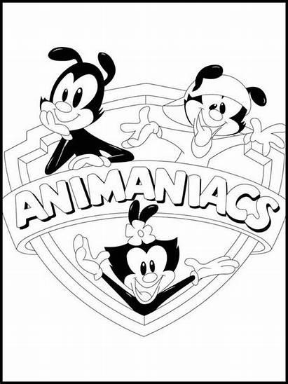 Animaniacs Coloring Pages Printable Yakko Warner Cartoon