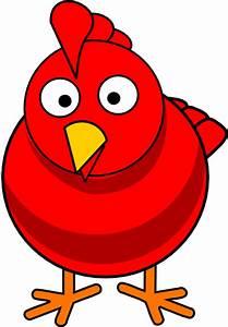 Big Red Hen Clip Art at Clker.com - vector clip art online ...