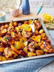 Schnelles Abendessen Für Gäste : orangenh hnchen vom blech mit chorizo rezept kochen f r g ste pinterest blech essen und ~ Markanthonyermac.com Haus und Dekorationen