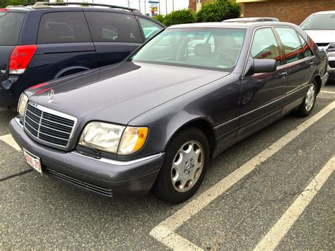 Curbside Classic 1995 Mercedesbenz S320 (w140) Over