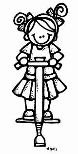 Clipart Melonheadz Pogo Stick Requests Coloring Clip Drawing Nikki July sketch template