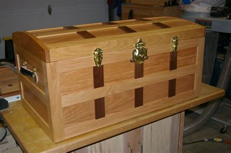steamer trunk plans plans woodworking wood  box plans eoropeza