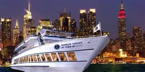 crucero  cena en nueva york  world yacht reserva ahora