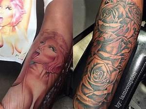Safaree Samuels had Nicki's face tattooed on his arm but ...