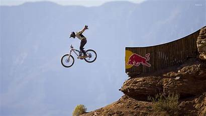 Bull Wallpapers Rampage Redbull Sports Jumping 3d