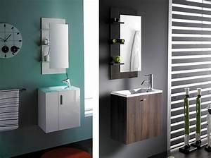 Handwaschbecken Gäste Wc : badm bel set g ste wc waschbecken waschtisch handwaschbecken spiegel top 50cm ebay ~ Markanthonyermac.com Haus und Dekorationen