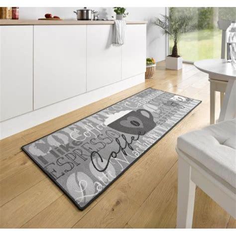 tapis pour cuisine original tapis de cuisine coffee cup gris 67x180 cm 102370