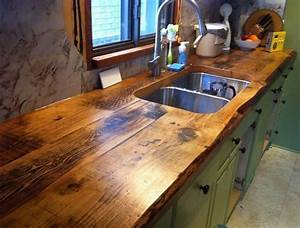 Rustic Timber Countertops The Owner-Builder Network