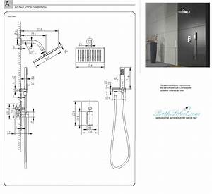Onassis Milano Shower Set Installation Instructions