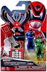 Power Rangers Super Megaforce Legendary Ranger Key Pack ...