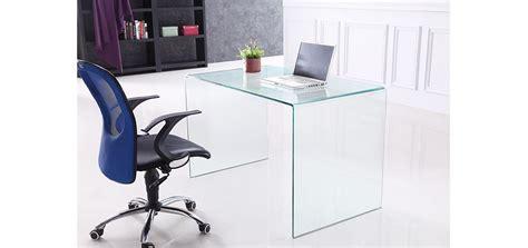 table bureau en verre bureau en verre choisissez nos bureaux en verre