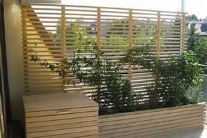 Holz Für Die Terrasse : die besten 25 sichtschutz terrasse holz ideen auf pinterest holz decks deckbelag und outdoor ~ Markanthonyermac.com Haus und Dekorationen
