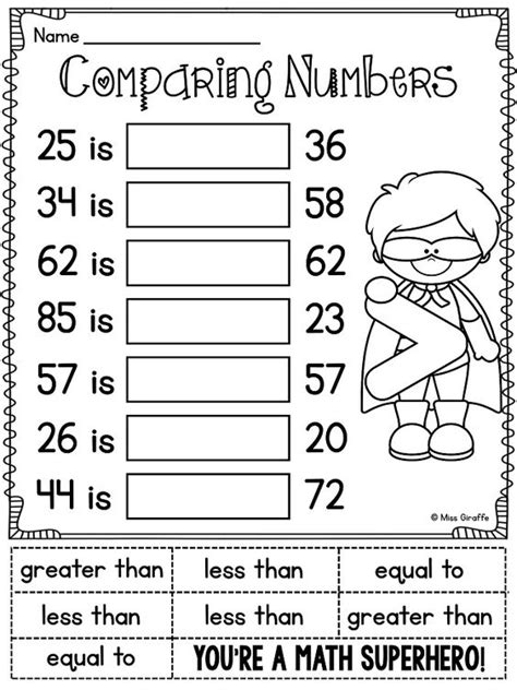 grade math unit 11 comparing numbers skip counting