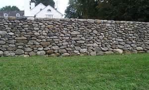 Stone Wall Fence