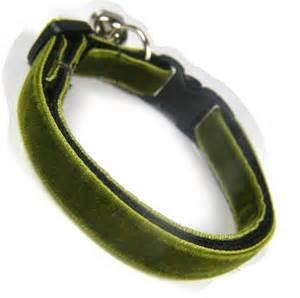 cool cat collars olive green velvet cool cat collar coolcatcollars co uk