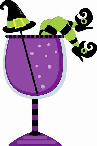 Halloween Clipart Drink Clip Sangria Minus Drinks