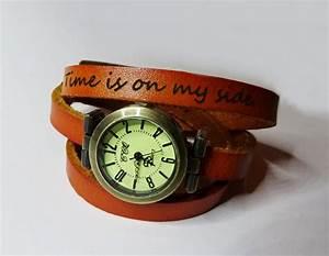 bracelet cuir femme 2 tours With robe de cocktail combiné avec bracelet cuir montre