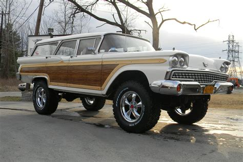 ebay find  lifted  ford station wagon takes