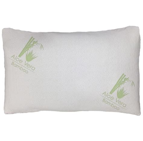 reviews on bamboo pillows aloe vera bamboo pillows with shredded memory foam