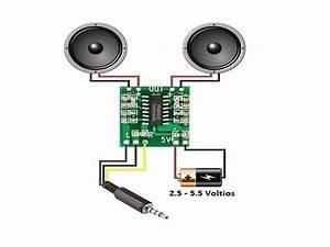 M U00f3dulo Pam8403 Mini Amplificador Digital De Audio Est U00e9reo