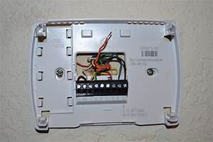 I Am Trying To Wire A Honeywell Rth3100c To A Rheem Ac