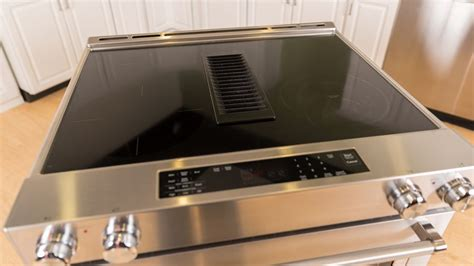 downdraft vent system clears  air pictures cnet