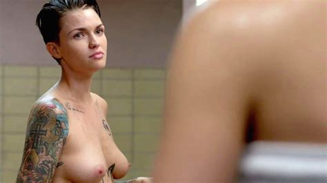 Ruby Rose Topless Scene From Orange Is The New Black