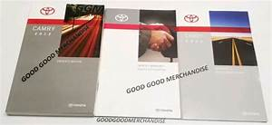 2012 Toyota Camry Owners Manual Guide S Xle Se Limited